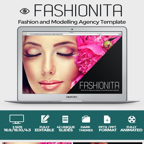 Fashionita Powerpoint Template