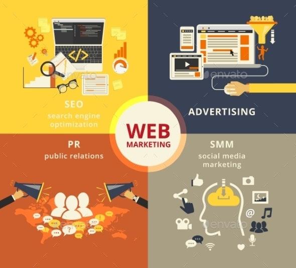 Web Marketing - Concepts Business