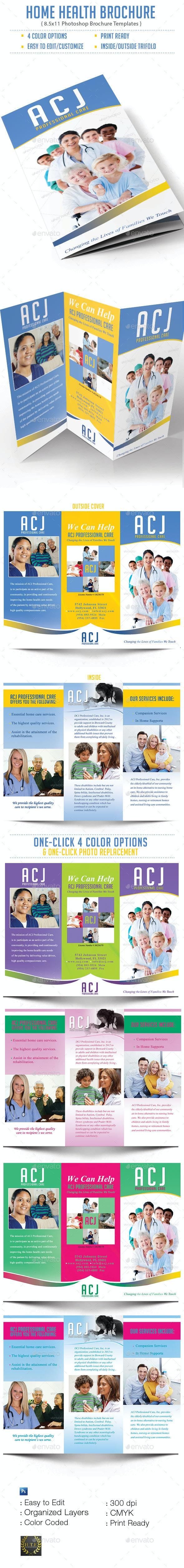Home Health Brochure - Brochures Print Templates