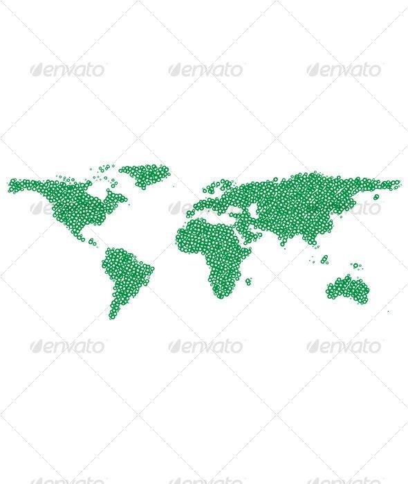 Green world - Backgrounds Decorative