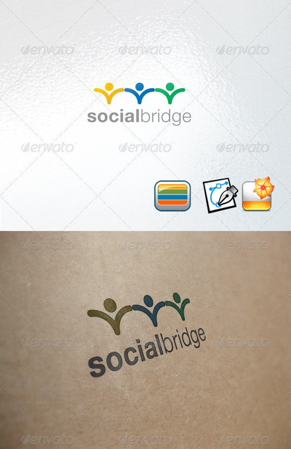 socialbridge - Nature Logo Templates