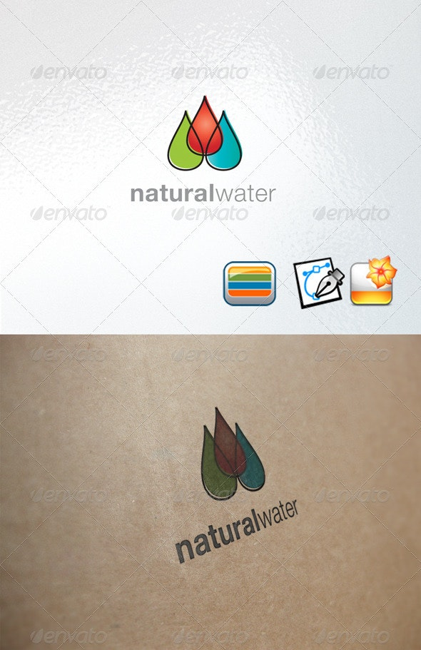 Naturalwater - Nature Logo Templates