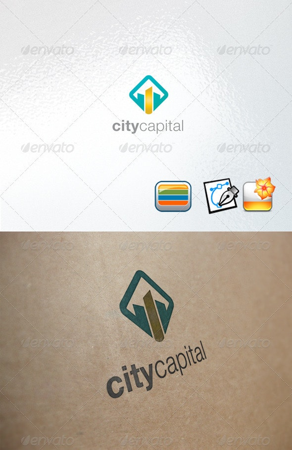 Citycapital - Buildings Logo Templates