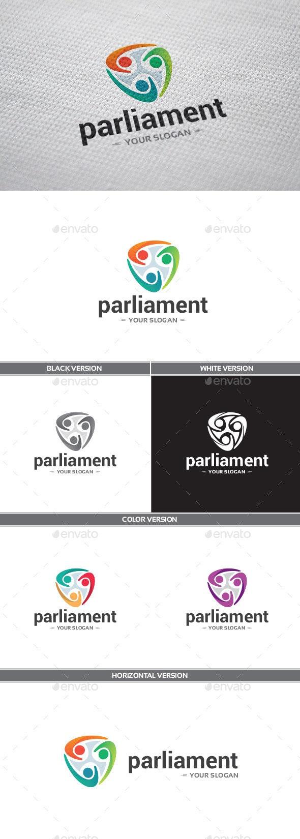 Parliament Logo - Objects Logo Templates