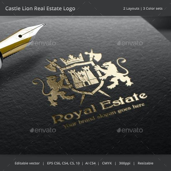 Castle Lion Real Estate Logo
