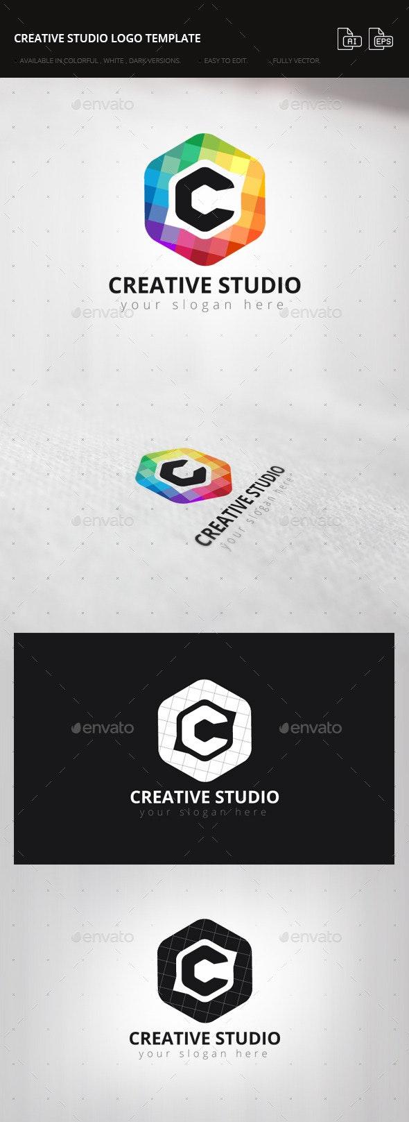 Creative Studio Logo Template - Letters Logo Templates
