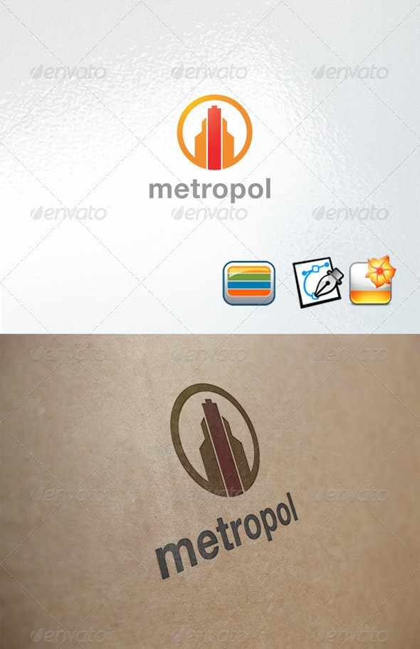 Metropol - Buildings Logo Templates