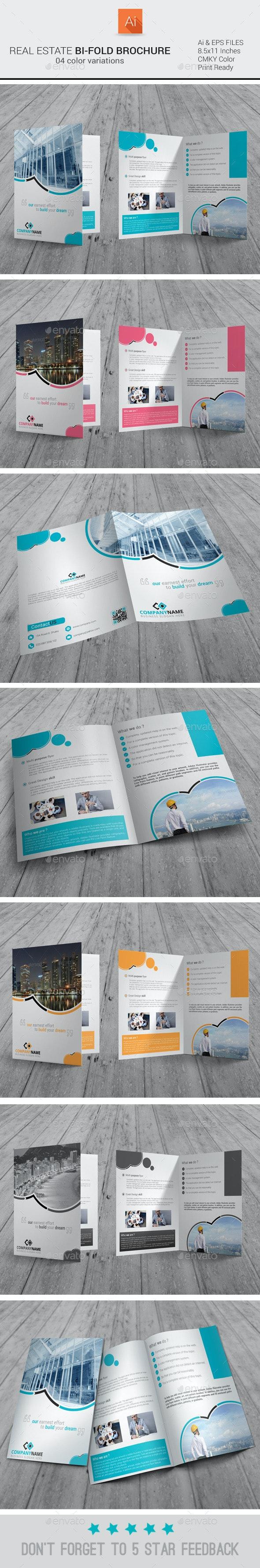 Real Estate Bi-fold Brochure - Corporate Brochures