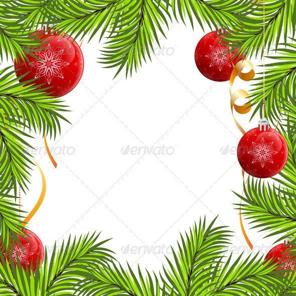Fir Framing - Christmas Seasons/Holidays