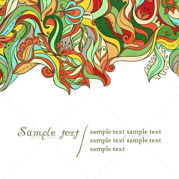 Decorative Ornamental Card
