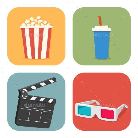 Movie Time - Miscellaneous Conceptual