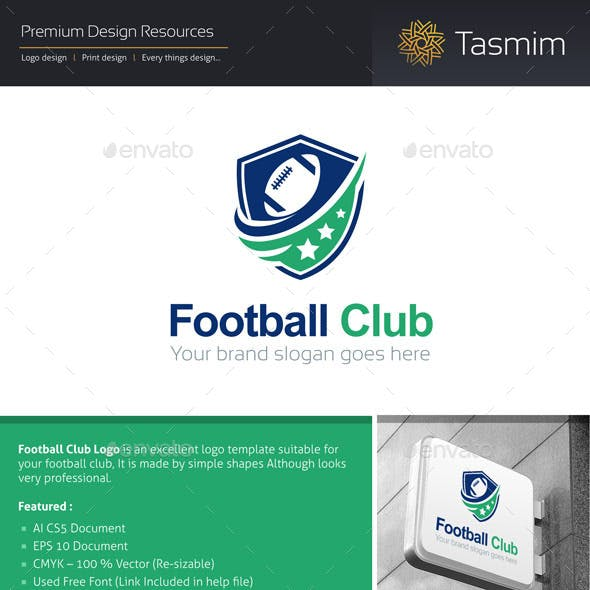 Football Club Logo Template