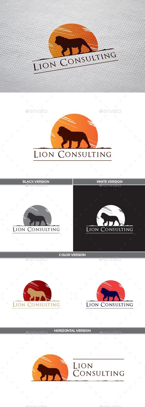 LionConsulting Logo - Animals Logo Templates