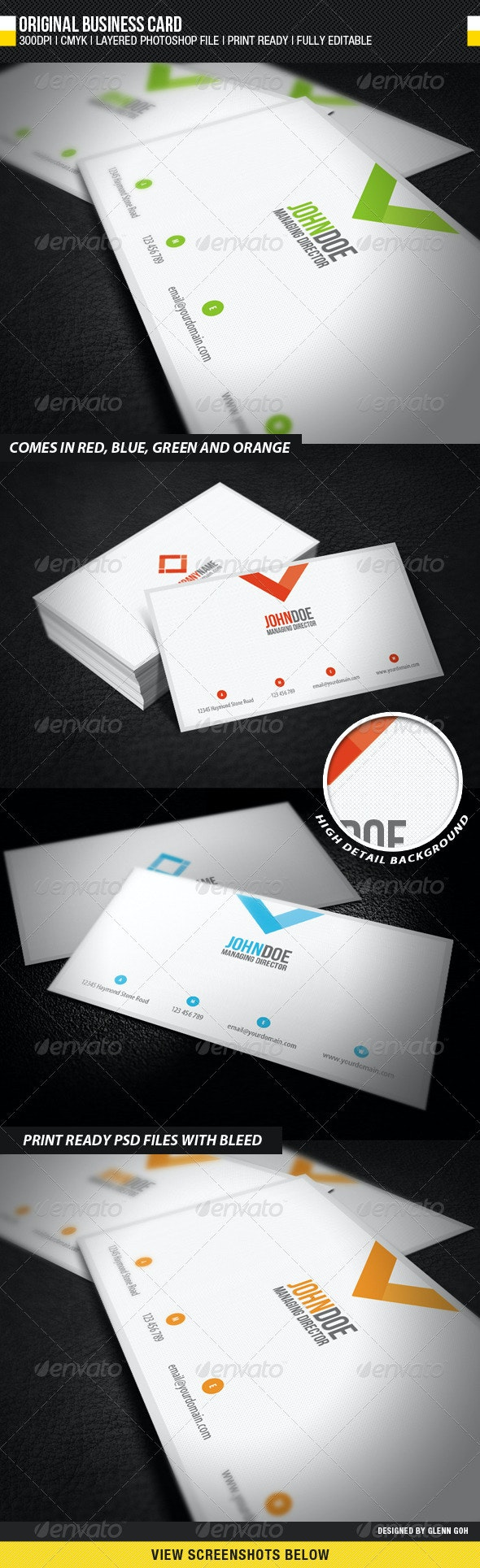 Original Business Card - Corporate Business Cards