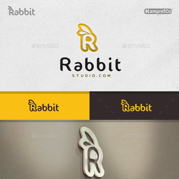 R Rabbit Logo