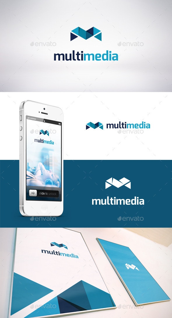 Multi Media Logo Template - Letters Logo Templates