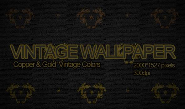 Vintage Wallpaper - Miscellaneous Backgrounds