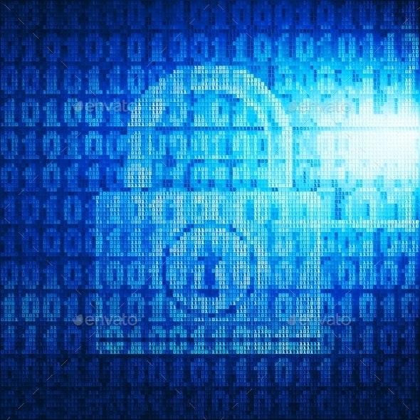 Binary Lock - Technology Conceptual