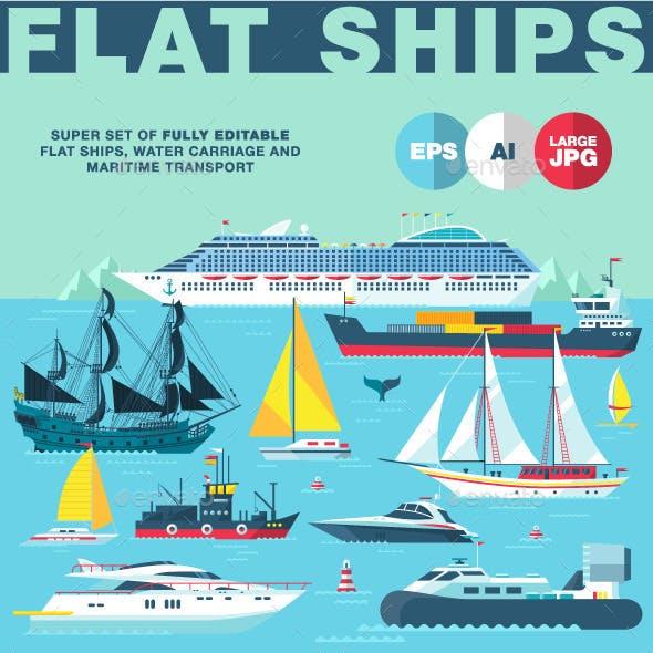 Flat Ships