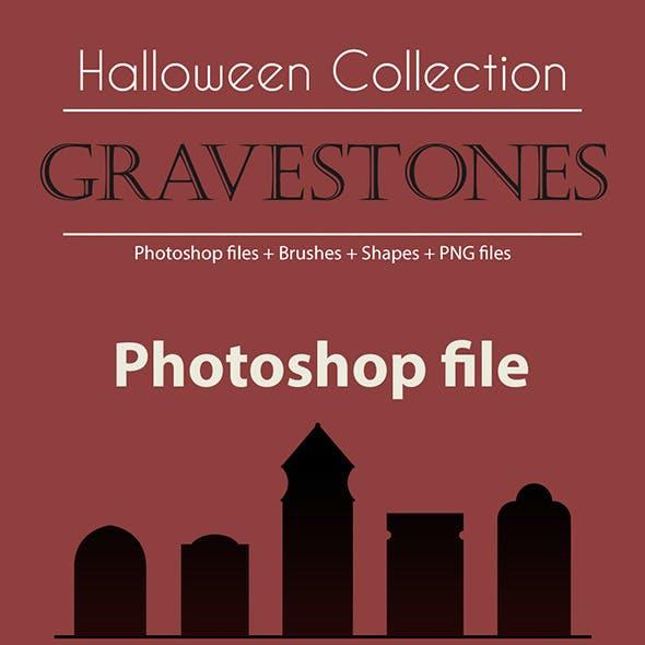 Halloween Collection - Gravestones