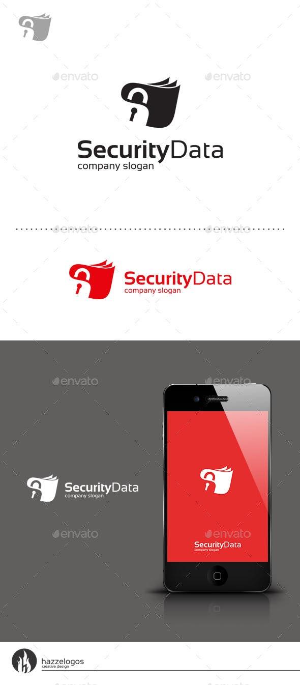 Security Data Logo - Symbols Logo Templates