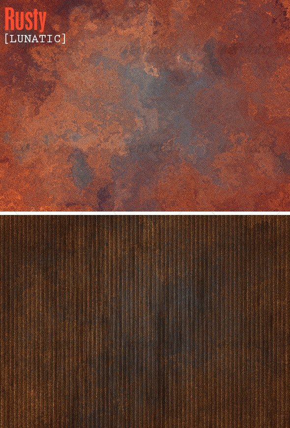 Rusty Backgrounds - Metal Textures
