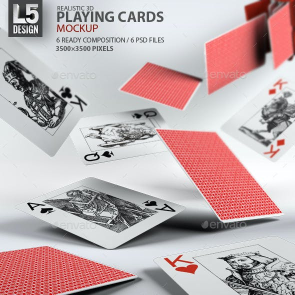 Playing Cards Graphics Designs Templates From Graphicriver