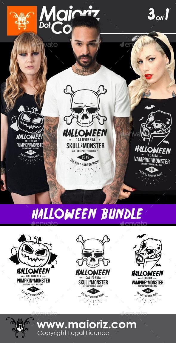 Halloween Tshirt Bundle - Events T-Shirts