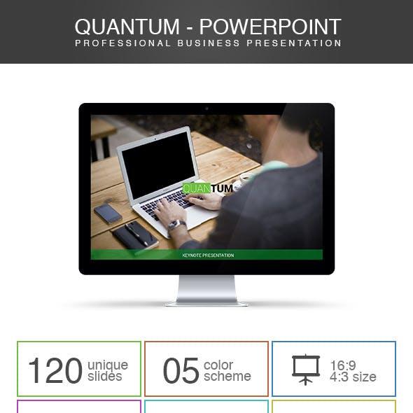 Quantum - Powerpoint Presentation