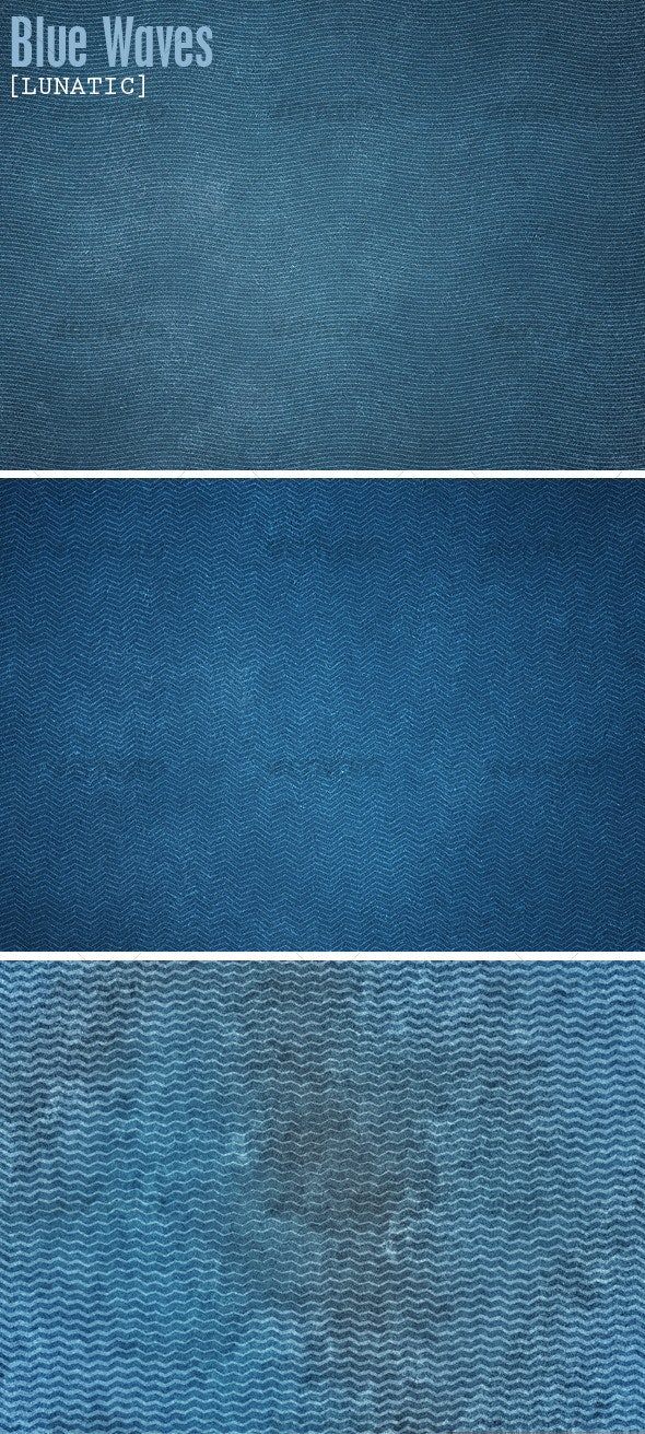 Blue Waves - Miscellaneous Textures