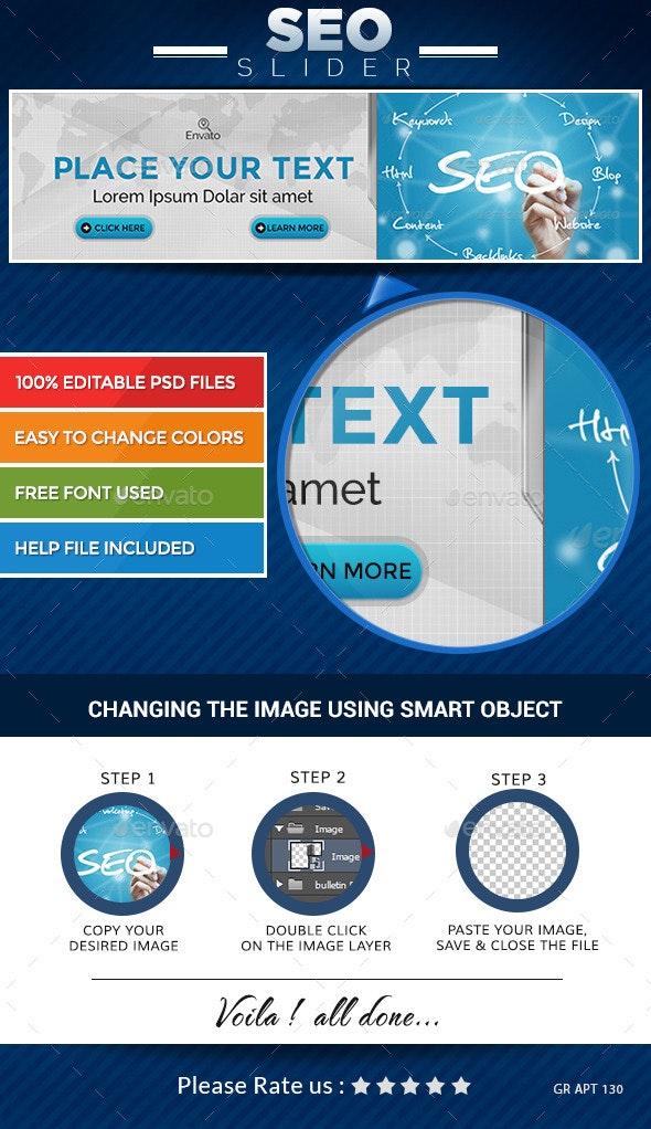 SEO Slider - Sliders & Features Web Elements