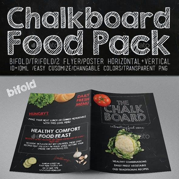 Chalkboard Food Package