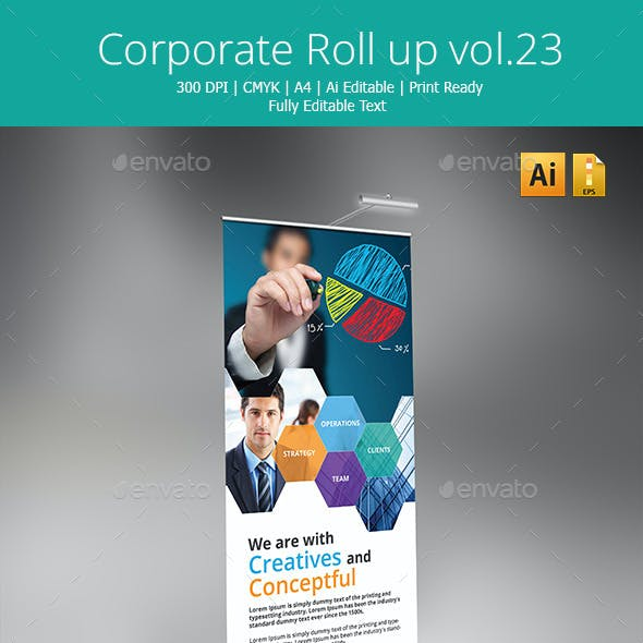 Corporate Rollup banner vol.23