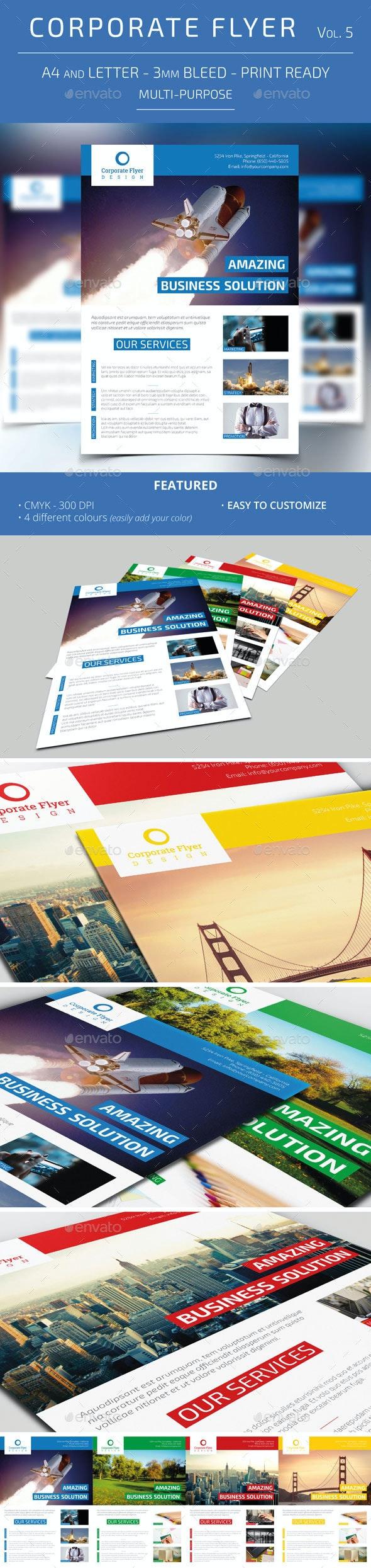 Corporate Flyer - Vol. 5 - Corporate Flyers