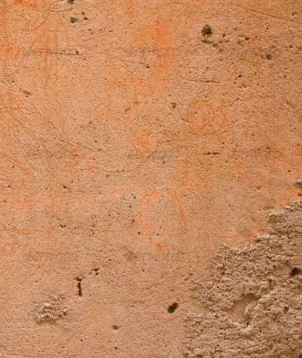 Peach Stucco - Concrete Textures