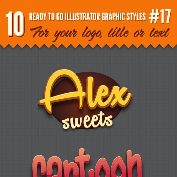 10 Logo Graphic Styles #17