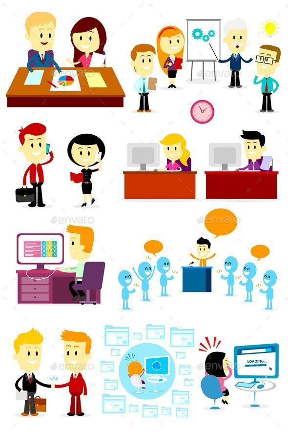 Office People Clipart 1 - People Characters