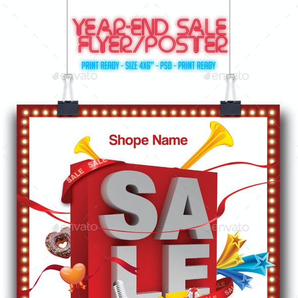 Year-End Sale Flyer/Poster