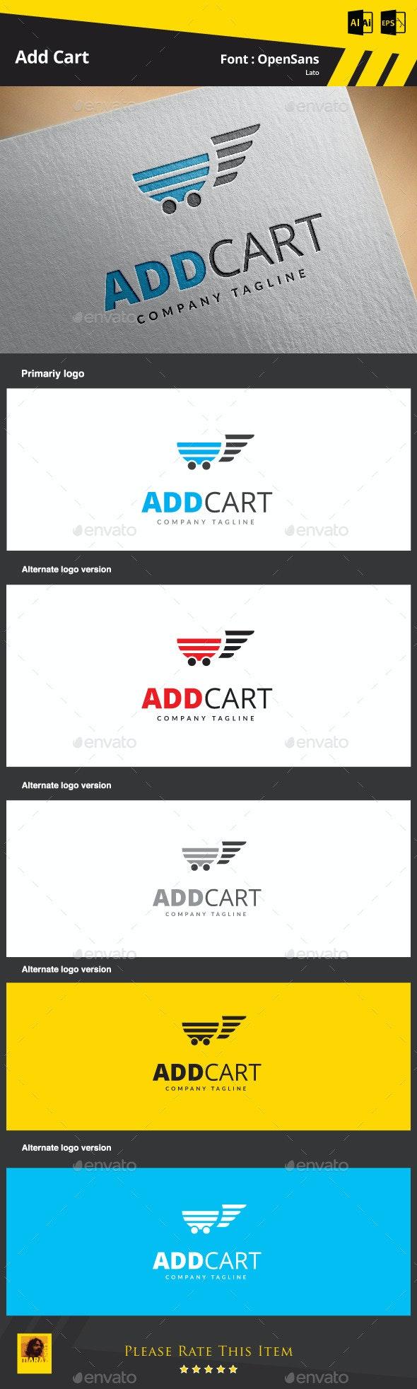 Add Cart - Symbols Logo Templates