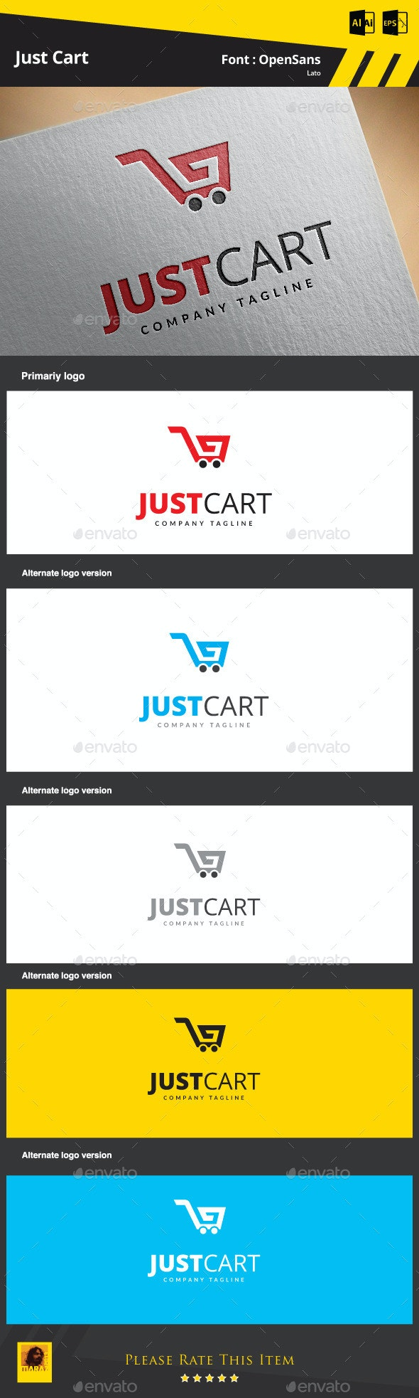 Just Cart - Symbols Logo Templates