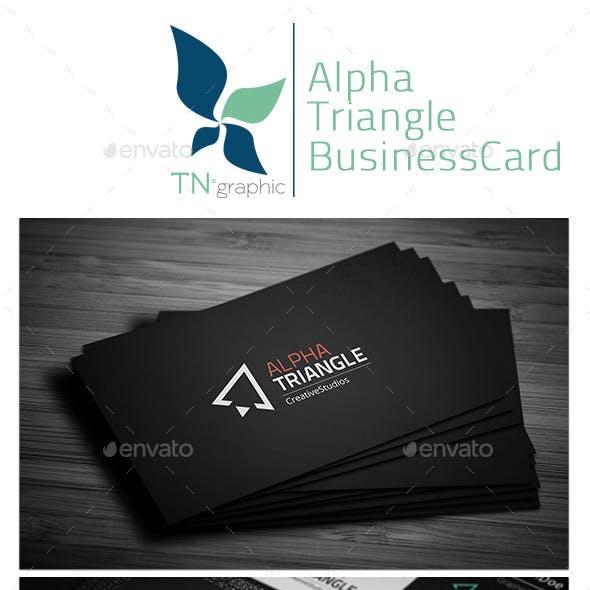 AlphaTriangle BusinessCard
