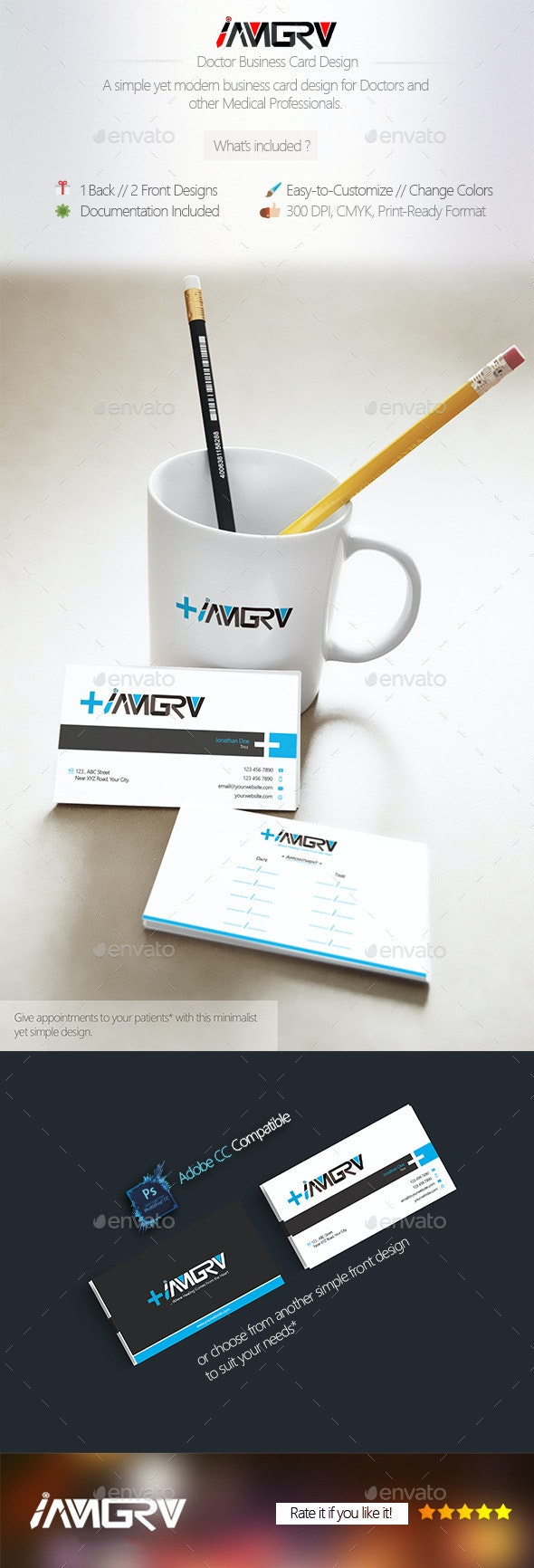 Doctor Business Card - Industry Specific Business Cards