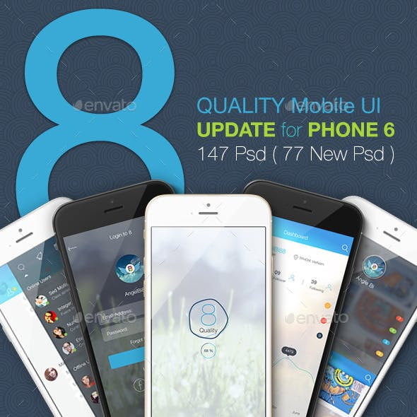 OS8 Quality - Mobile UI Kit
