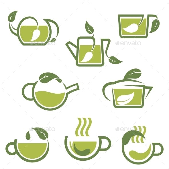 Herbal Tea Icons