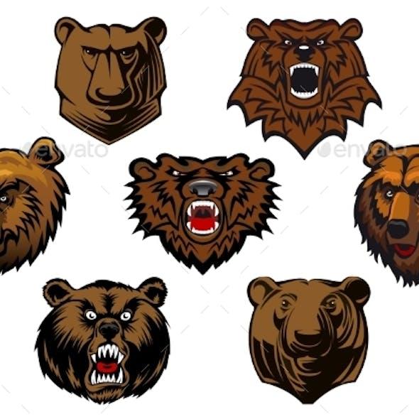 Bear Head Set