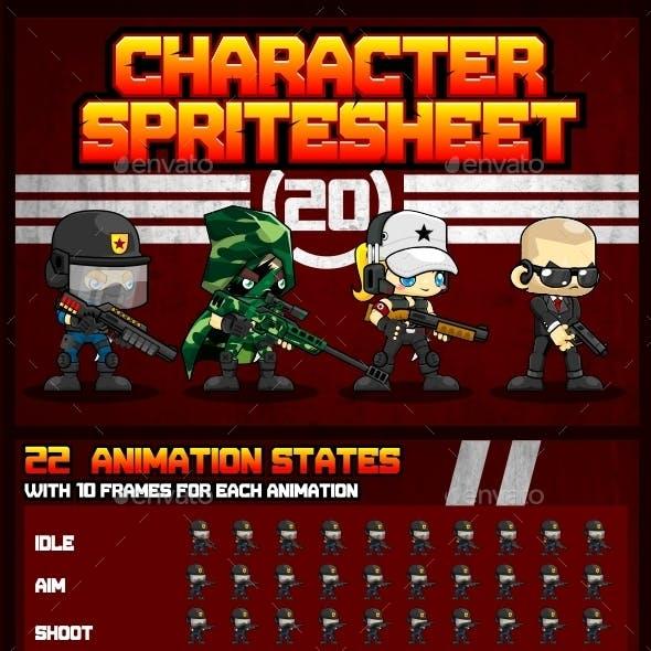Characters Spritesheet 20