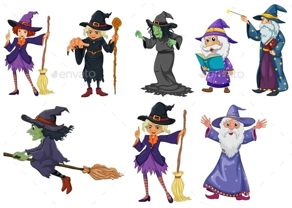 Witches - People Characters