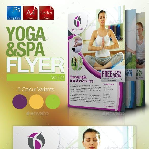Simple Yoga Flyer Vol.2