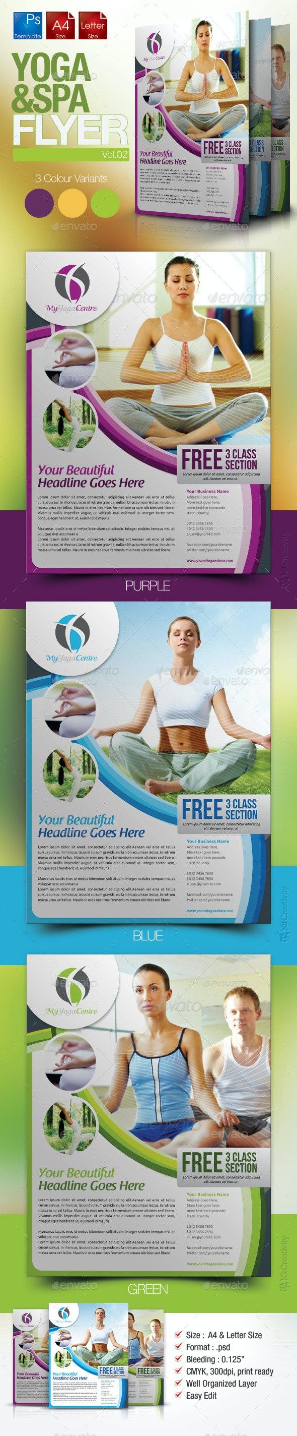 Simple Yoga Flyer Vol.2 - Miscellaneous Events