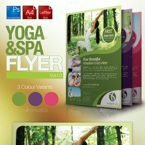 Simple Yoga Flyer Vol.3